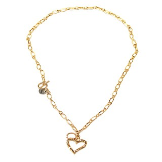 True love twoway necklace Gold