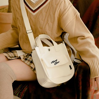 #IVORY / CANVAS TOTE BAG