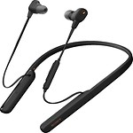 #BLACK / NECKBAND WIRELESS NOISE CANCELLING EARPHONES WI1000XM2S