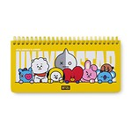 BT21 20HT WEEKLY PLANNER(Purchasable from 2 or more quantities/Displayed price is for 1 quantity)