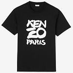 #BLACK / SEASONAL KENZO T-SHIRT_MEN L