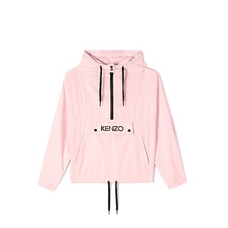 #FADED PINK / HOODIE PACKABLE WINDBREAKER_WOMENEN L