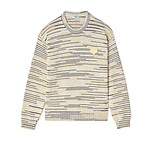 #LEMON / SPACEDYED TIGER CREST JUMPER_MEN XL