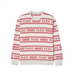 #OFF WHITE / ALL OVER KENZO JACQUARD JUMPER_MEN L