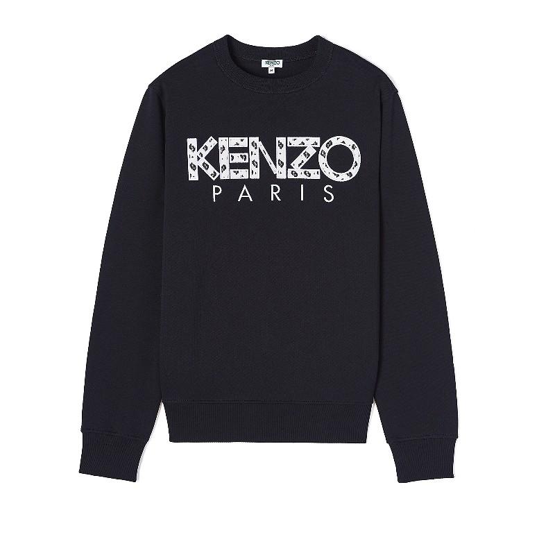 #BLACK / CLASSIC KENZO PARIS SWEATSHIRT_MEN L