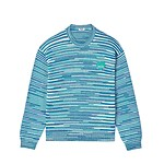 #MINT / SPACEDYED TIGER CREST JUMPER_MEN M