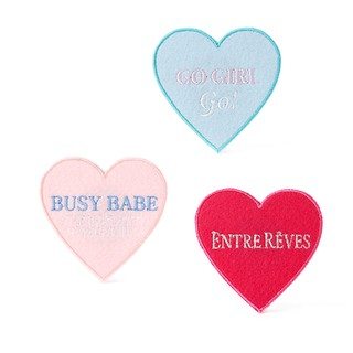 #MULTI / BUSY ENTRE REVES GIRL PATCH SET