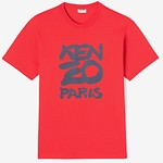 #MEDIUM RED / SEASONAL KENZO T-SHIRT_MEN XL