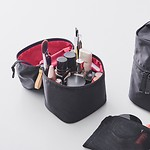 #黑色(/粉色) / VERTICAL MAKE-UP BOX_02 化妆包