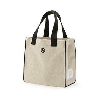 #black / biscuit bag (S)