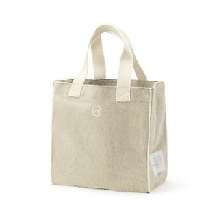 #ivory / biscuit bag (S)