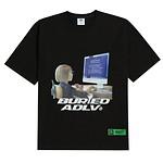 #BLACK / BAxADLV COMPUTER GIRL / 2