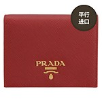 #FIERY RED / SMALL SAFFIANO LEATHER WALLET