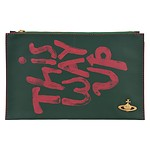 #GREEN / V.WESTWO LLG I AM EXPENSIVE POUCH 收纳包