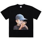 #BLACK / BABY FACE CAP BOY / 1