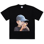 [U] #BLACK / BABY FACE CAP BOY / 2