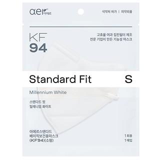 KF94방역마스크(S)밀레니엄화이트10P