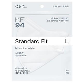KF94방역마스크(L)밀레니엄화이트20P