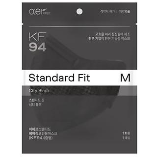 KF94방역마스크(M)시티블랙20P