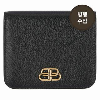#BLACK / BB FLAP COIN & CARD HOLDER