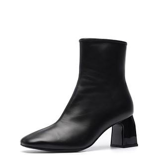 # 블랙 / Rommel ankle boots(black)_235
